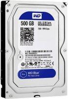 """Жорсткий диск Western Digital Blue 500ГБ 7200об/м 32МБ 3.5"""" SATA III (WD5000AZLX) - зображення 1"""