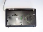 Аккумуляторный портативный радиоприемник Golon RX-2277 FM AM радио колонка с фонариком и USB выходом Черно-серебристый (DU007) - изображение 4