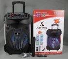 Бездротова акустична блютуз система AwCrowns CH1201, 250W, світломузика, мікрофон - зображення 6