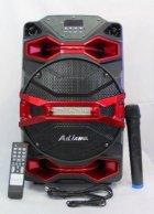 Колонка на аккумуляторе с беспроводным микрофоном Ailiang UF-1018 /100W (USB/Bluetooth/FM) - изображение 1