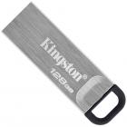 Kingston DataTraveler Kyson 128GB USB 3.2 Silver/Black (DTKN/128GB) - зображення 1