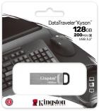 Kingston DataTraveler Kyson 128GB USB 3.2 Silver/Black (DTKN/128GB) - зображення 4