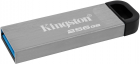 Kingston DataTraveler Kyson 256GB USB 3.2 Silver/Black (DTKN/256GB) - зображення 2