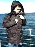 Зимняя куртка мужская Freever GF 1816 черная 2XL - изображение 3