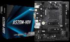 Материнська плата ASRock A520M-HDV (sAM4, AMD A520, PCI-Ex16) - зображення 5