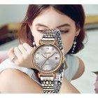 Годинники жіночі Sunkta Vivaro з металевим браслетом Чорний/Золотистий - зображення 8