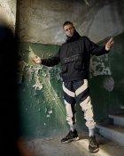 Спортивные штаны Пушка Огонь Dex черные с рефлективом XS - изображение 7