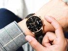 Часы Cuena Кварцевые мужские Type J Черный (1007-666-09) - изображение 2