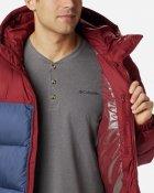 Куртка Columbia Pike Lake Hooded Jacket O0020479 XL Сине-бордовая (0192660114477) - изображение 4