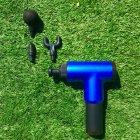 Портативный ручной вибромассажер для мышц Fascial Gun HF-280 - изображение 5