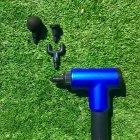 Портативный ручной вибромассажер для мышц Fascial Gun HF-280 - изображение 6