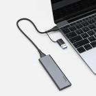 Зовнішній накопичувач SSD Type-C HOCO UD7 256GB Grey - зображення 5