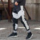 Спортивные штаны Over Drive Split черно-белые с рефлективом XS - изображение 2
