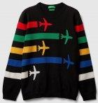 Джемпер United Colors of Benetton 1041Q1936.G-3275 140 см L (8032652378505) - зображення 1