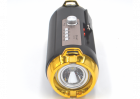 Портативная аккумуляторная Bluetooth колонка Golon RX BT180S с фонарем, солнечной панелью Черно-золотой (11599) - изображение 3