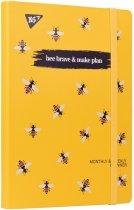 Планер недатированный Yes Bee Brave 197 x 145 мм 192 страниц Pattern (151662) - изображение 1
