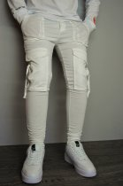 Мужские спортивные штаны hype drive white размер L J-059 - изображение 6