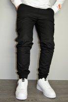 Чоловічі спортивні штани hype drive black розмір XL J-057 - зображення 4