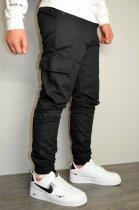 Чоловічі спортивні штани hype drive black розмір S J-057 - зображення 1