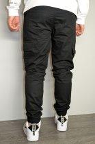 Чоловічі спортивні штани hype drive black розмір S J-057 - зображення 6