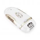 Эпилятор Rozia HB-6007 женский с 4 насадками + подарочная упаковка Белый (11641) - изображение 3