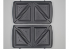 Мультимейкер Crownberg CB-1071 3 в 1 гриль + сендвичница + вафельниця Чорна (11654) - зображення 2
