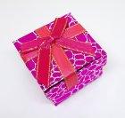 Коробочка для прикрас під кільце і сережки Рожевий 4(р) - зображення 3
