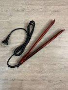 Утюжок выпрямитель щипцы для волос профессиональный с керамическим покрытием DSP 10183 Красный - изображение 4
