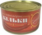 Килька Колумб в томатном соусе №5 240 г (4823027600109) - изображение 1