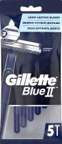 Одноразовые станки для бритья (Бритвы) мужские Gillette Blue 2 5 шт (7702018849031) - изображение 2