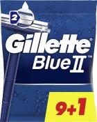 Одноразовые станки для бритья (Бритвы) мужские Gillette Blue 2 10 шт (7702018467679) - изображение 1