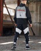 Спортивные штаны Пушка Огонь Split черно-белые с рефлективом XS - изображение 10