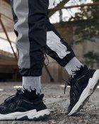 Спортивные штаны Пушка Огонь Split черно-белые с рефлективом XL - изображение 7