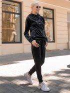 Спортивный костюм Lilove 052 4XL(54-56) Черный (ROZ6400022441) - изображение 8