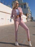 Спортивный костюм Lilove 057 4XL(54-56) Розовый (ROZ6400022506) - изображение 7