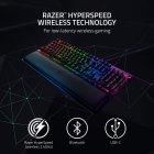 Клавіатура бездротова Razer BlackWidow V3 PRO Razer Green Wireless RU (RZ03-03530800-R3R1) - зображення 5