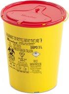 Контейнер для сбора игл и медицинских отходов AP Medical DISPO 3 л (2060400 4341 06) - изображение 1