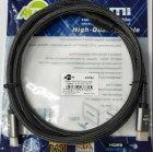 Кабель Atcom HDMI-HDMI Premium VER 2.1 60 HZ 3 м Черный (23783) - изображение 3