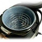 Мультиварка кераміка мармур 25 програм Rotex RMC535-W Smoke Master 860 Вт Копчення Мультиповар пароварка хлібопічка чаша з ручками книга рецептів - зображення 4