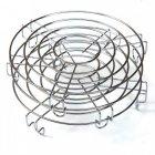 Мультиварка кераміка мармур 25 програм Rotex RMC535-W Smoke Master 860 Вт Копчення Мультиповар пароварка хлібопічка чаша з ручками книга рецептів - зображення 7