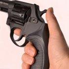 """Револьвер під патрон Флобера Safari PRO 431м (3.0"""", 4.0 mm), ворон-пластик - зображення 8"""