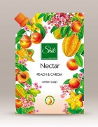 Рідке крем-мило Шик Nectar Персик і карамболь 460 мл - зображення 1