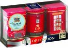 Набор черного чая Ahmad Tea City Of London Caddies 3 х 25 г (54881010634) - изображение 1