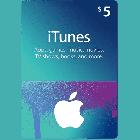 Подарункова карта iTunes Apple / App Store Gift Card 5 usd, US-регіон - зображення 1