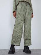 Брюки Zara 7385/274/501 XS Зеленые (07385274501013) - изображение 2