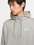 Толстовка Nike M Nsw Club Hoodie Fz Ft BV2648-063 L Светло-серая (193147704020) - изображение 3