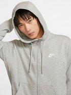 Толстовка Nike M Nsw Club Hoodie Fz Ft BV2648-063 L Светло-серая (193147704020) - изображение 4