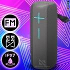 Музична колонка Hopestar P15 Pro вологозахищена з вбудованим мікрофоном Bluetooth + потужний гучномовець - Переносна портативна USB акустична система з гучним звуком, Сірий - зображення 1