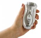 Эпилятор женский электробритва 2-в-1 Rozia HB-6005 Silver - изображение 8