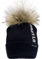 Зимняя шапка David's Star 21406-1 54 Чёрная (ROZ6400024672) - изображение 1